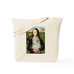 Mona Lisa /Cocker Spaniel Tote Bag