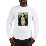 Mona Lisa /Cocker Spaniel Long Sleeve T-Shirt