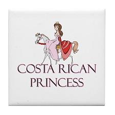 Costa Rican Princess Tile Coaster