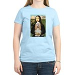 Mona Lisa / Cocker Spaniel Women's Light T-Shirt