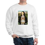 Mona Lisa / Cocker Spaniel Sweatshirt