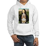 Mona Lisa / Cocker Spaniel Hooded Sweatshirt