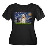 Spring /Cocker Spaniel (buff) Women's Plus Size Sc