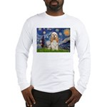 Spring /Cocker Spaniel (buff) Long Sleeve T-Shirt