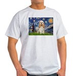 Spring /Cocker Spaniel (buff) Light T-Shirt
