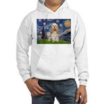 Spring /Cocker Spaniel (buff) Hooded Sweatshirt