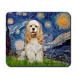Spring /Cocker Spaniel (buff) Mousepad