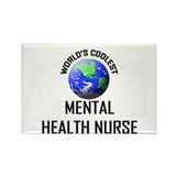 World's Coolest MENTAL HEALTH NURSE Rectangle Magn