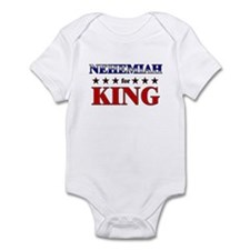 NEHEMIAH for king Infant Bodysuit