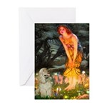 Midsummer / Cocker Spaniel Greeting Cards (Pk of 1
