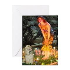 Midsummer / Cocker Spaniel Greeting Card