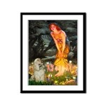 Midsummer / Cocker Spaniel Framed Panel Print