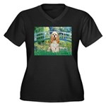 Bridge / Cocker Spaniel (buff) Women's Plus Size V