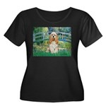 Bridge / Cocker Spaniel (buff) Women's Plus Size S