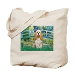 Bridge / Cocker Spaniel (buff) Tote Bag
