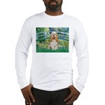 Bridge / Cocker Spaniel (buff) Long Sleeve T-Shirt