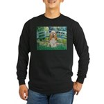 Bridge / Cocker Spaniel (buff) Long Sleeve Dark T-
