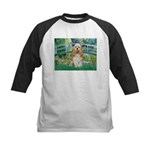 Bridge / Cocker Spaniel (buff) Kids Baseball Jerse