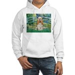 Bridge / Cocker Spaniel (buff) Hooded Sweatshirt