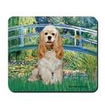 Bridge / Cocker Spaniel (buff) Mousepad