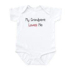 My Grandpere Loves Me Infant Bodysuit