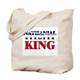 NATHANIAL for king Tote Bag