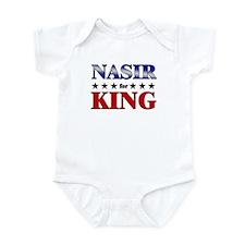 NASIR for king Infant Bodysuit
