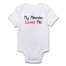 My Memaw Loves Me Infant Bodysuit