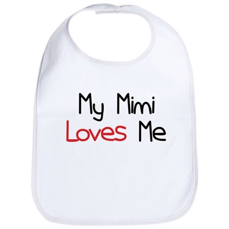 My Mimi Loves Me Bib