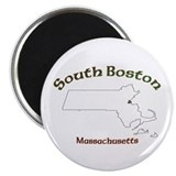 "2.25"" South Boston Magnet (100 pack)"