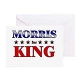 MORRIS for king Greeting Cards (Pk of 20)