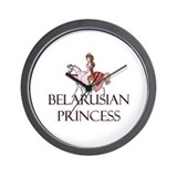 Belarusian Princess Wall Clock