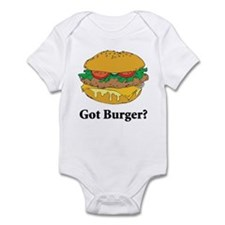 Got Burger Infant Bodysuit