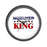 MOHAMED for king Wall Clock