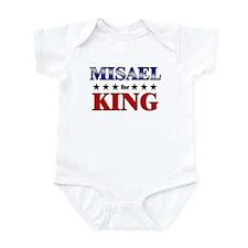 MISAEL for king Infant Bodysuit