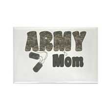 Army Mom (tags) Rectangle Magnet