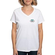 Grandmother of Twin Boys - V-Neck T-Shirt