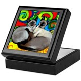 Siamese Cats Keepsake Box