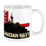Royal Canadian Navy Small Mugs