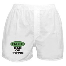 Dad of Twins - Boxer Shorts
