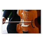 Viols in Our Schools Viola da Gamba Sticker