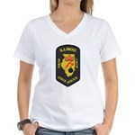 Illinois State Police EOD Women's V-Neck T-Shirt