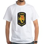 Illinois State Police EOD White T-Shirt