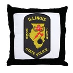 Illinois State Police EOD Throw Pillow