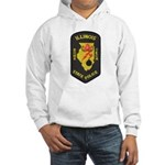 Illinois State Police EOD Hooded Sweatshirt