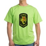 Illinois State Police EOD Green T-Shirt