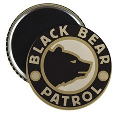 Black Bear Patrol Magnet