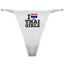 I Love Thai Girls Classic Thong