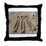 Sand Awen Throw Pillow