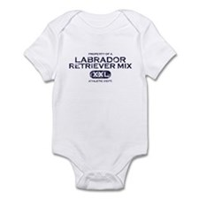 Property of Labrador Retriever Mix Baby Bodysuit